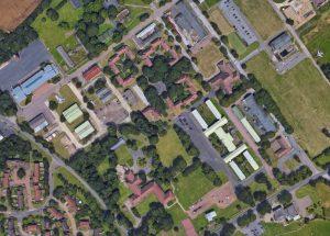 Aerial View Manston Domestic Area